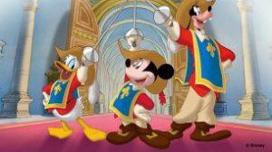 Mickey, Donald, Goofy – Cei Trei Mușchetari