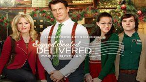 Signed, Sealed, Delivered for Christmas (2014)
