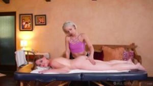 AllGirlMassage 20.04.27 Marie Mccray And Goldie Glock Tricking My New Step-Mom